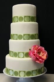 Wedding Cake Green Circle Wedding Cakes A Wedding Cake Blog