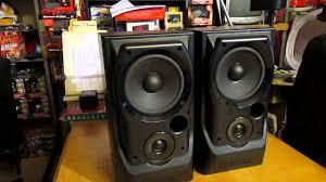 Mission 700 Bookshelf Speakers Mission 730 Reflex Loaded Loudspeakers 75 Watts Max Power Main
