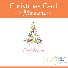 christmas card photo card manners