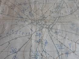 Normandy Map Operation Totalize Original Canadian Secret Map Normandy
