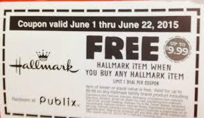 hallmark coupon i publix