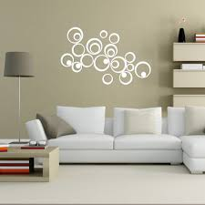 Wall Stickers Home Decor Wall Decals Terrific Round Wall Decals Circle Mirror Wall