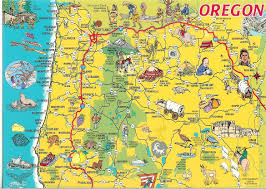 Map Of Washington And Oregon by Oregon U2013 The Most Important Map Of All