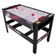 triumph sports pool table triumph 48 in 4 in 1 swivel multigame table air hockey billiards