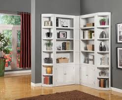 Beautiful Bookcases by White Corner Bookcase Walmart Roselawnlutheran