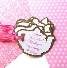 bridal tea party favors tea party favor tags princess tea party tea party