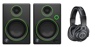 pro audio speakers for home theater mackie cr3 powered speakers audio technica ath m40x pro