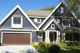 blue house white trim drive by design exterior house paint love equity