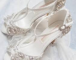 brides shoes for wedding bridal shoes etsy