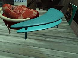 Boomerang Coffee Table Second Marketplace Retro Boomerang Coffee Table Teal