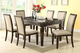 Dining Room Table Black Black Marble Dining Room Table And Chairs Dining Room Design