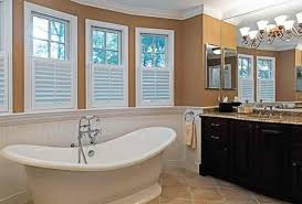 bathroom drapery ideas bathroom window coverings photogiraffe me