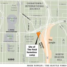 Seattle Police Map Seattle Evicts Residents Of Filthy U0027inhumane U0027 Sodo Homeless Camp