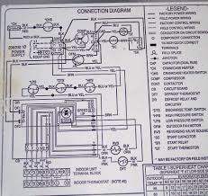 wiring diagram for ac unit and hvac condenser contactor central