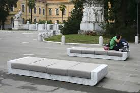 backless marble bench seating sofa 00 by franchiumbertomarmi