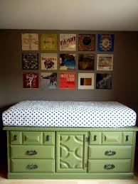 Diy Platform Bed Storage Ideas by Best 25 Dresser Bed Ideas On Pinterest Elevated Desk Kids Beds