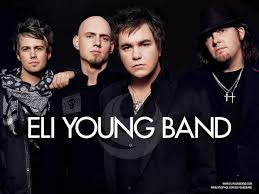 the eli young band with jon wolfe country