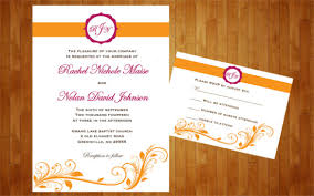 diy wedding invitations templates 26 fall wedding invitation templates free sle exle