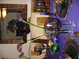 mardi gras tablescapes at table 21