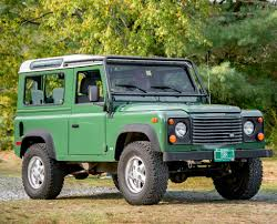 vintage land rover defender 1997 land rover defender 90 classic cars today online