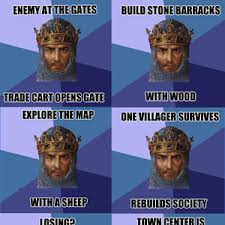 age of empires and its unquestionable logic by thepollochicken