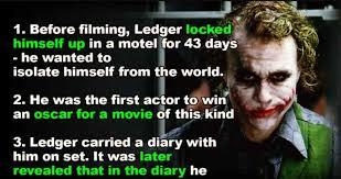 25 disturbing truths about heath ledger s joker