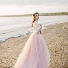 blush wedding dress blush wedding dress etsy