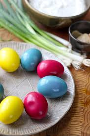 dyed greek yogurt deviled eggs kitchen vignettes pbs food
