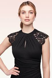 Black Cocktail Dresses With Sleeves What To Wear To A Wedding Summer Edition David U0027s Bridal