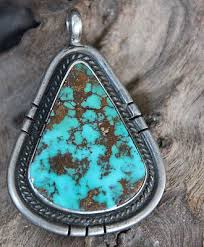 pendant necklace turquoise images Savvy collector red mountain turquoise pendant on sterling jpg