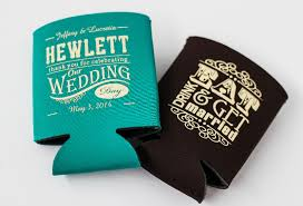 koozies for wedding hewlett wedding koozies choctaw print services