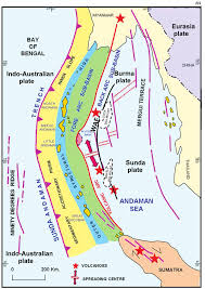 Map Of Tectonic Plates Tectonic Map Of Andaman And Nicobar Group Of Islands And