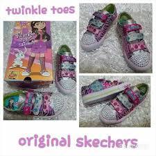 Sepatu Sketcher Anak Perempuan harga jual sepatu anak skechers twinkle toes polka murah di kota