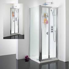 Frameless Bifold Shower Door Bi Fold Shower Door Door Stair Design