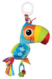 amazon com lamaze clip u0026 go toot toot toucan baby