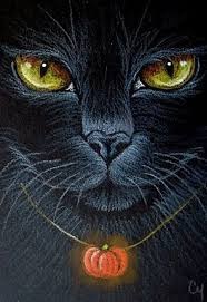 Creepy Halloween Poem Best 25 Halloween Black Cat Ideas On Pinterest Halloween Poems