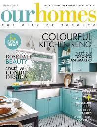 Custom Kitchen Cabinets Toronto Parrots On The Walls And Turquoise On The Cabi Our Homes Magazine