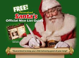 free personalized nice list guide