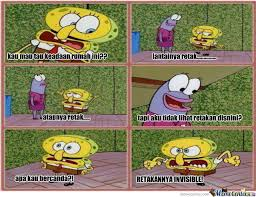 Meme Spongebob Indonesia - spongebob by figolonia meme center