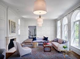 morgante wilson architects designed living room to enhance its