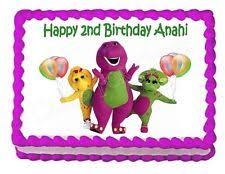 barney birthday cake barney cake decorations ebay