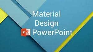 Material Design Powerpoint Youtube Design For Powerpoint