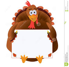 thanksgiving turkey with copyspace stock illustration image