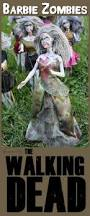How To Look Like A Zombie For Halloween Barbie Zombies Craft Inspired By The Walking Dead