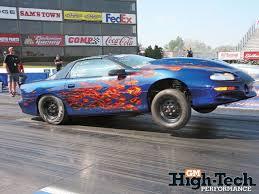 chevy camaro drag car ls1 drag cars gm high tech performance magazine