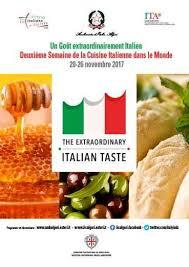 cuisiner pour la semaine l italie s invite pour une semaine à alger intymag