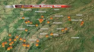Map Of Bristol Tennessee by Wildfires Currently Burning In East Tennessee