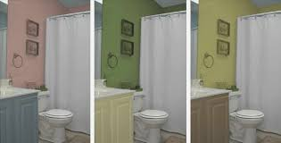 Tiny Bathroom Colors - two tone bathroom colors home design inspirations