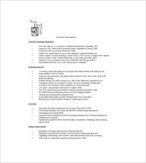 cafe business plan template 14 free sample example format
