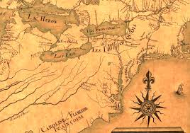 ohio river valley map governor spotswood s defense of the frontier